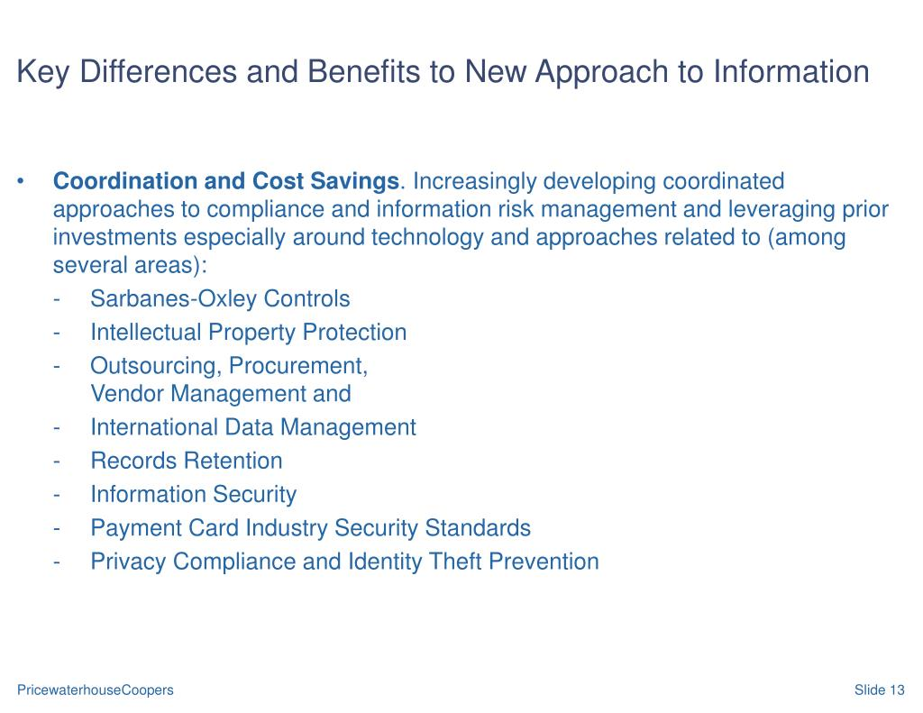 Key Differences and Benefits to New Approach to Information