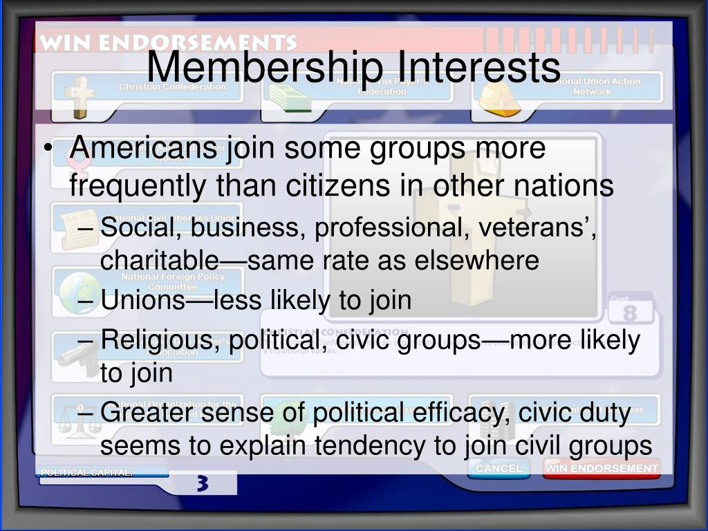 Membership Interests