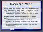 money and pacs 1