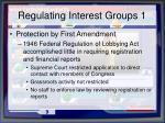 regulating interest groups 1