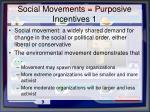 social movements purposive incentives 1