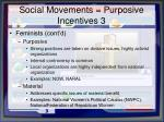 social movements purposive incentives 3