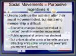 social movements purposive incentives 4