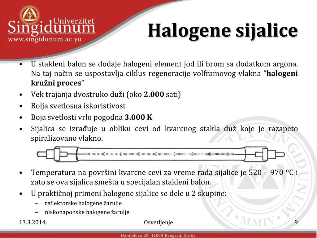 Halogene sijalice