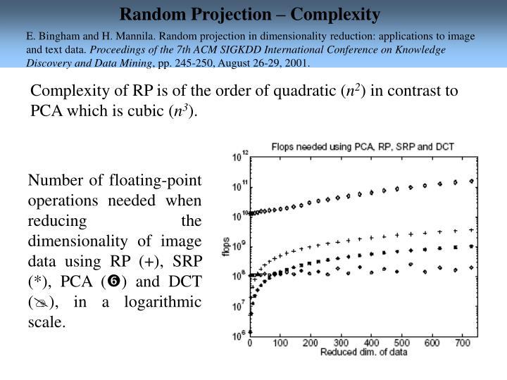 random projection
