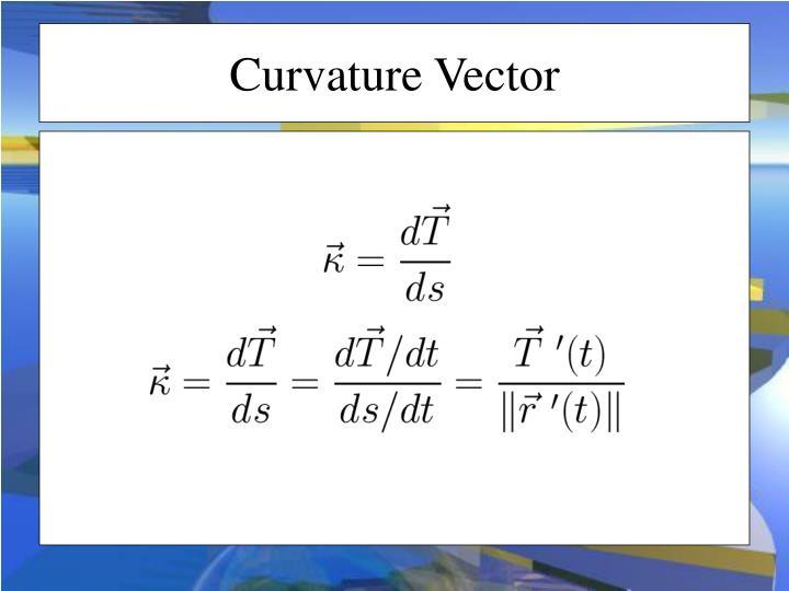 Curvature Vector