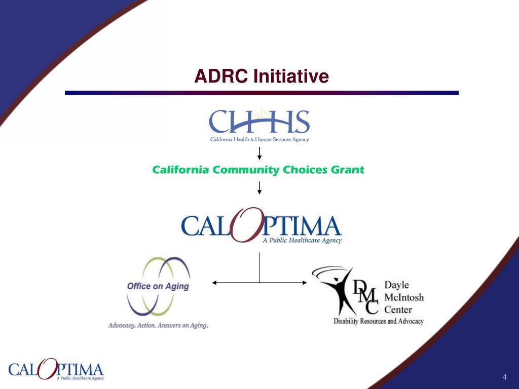 ADRC Initiative