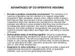 advantages of co operative housing2