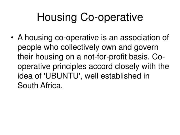 Housing Co-operative
