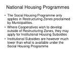 national housing programmes2