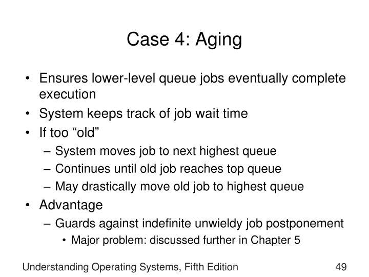 Case 4: Aging