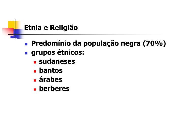 Etnia e Religião