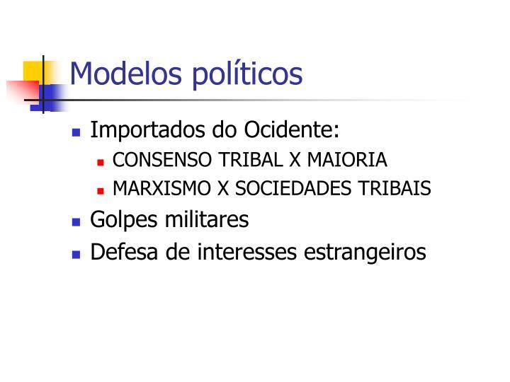Modelos políticos