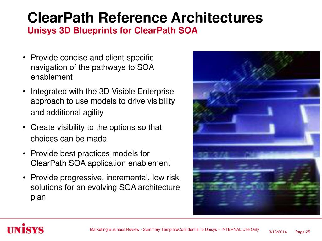 ClearPath Reference Architectures