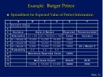 example burger prince6