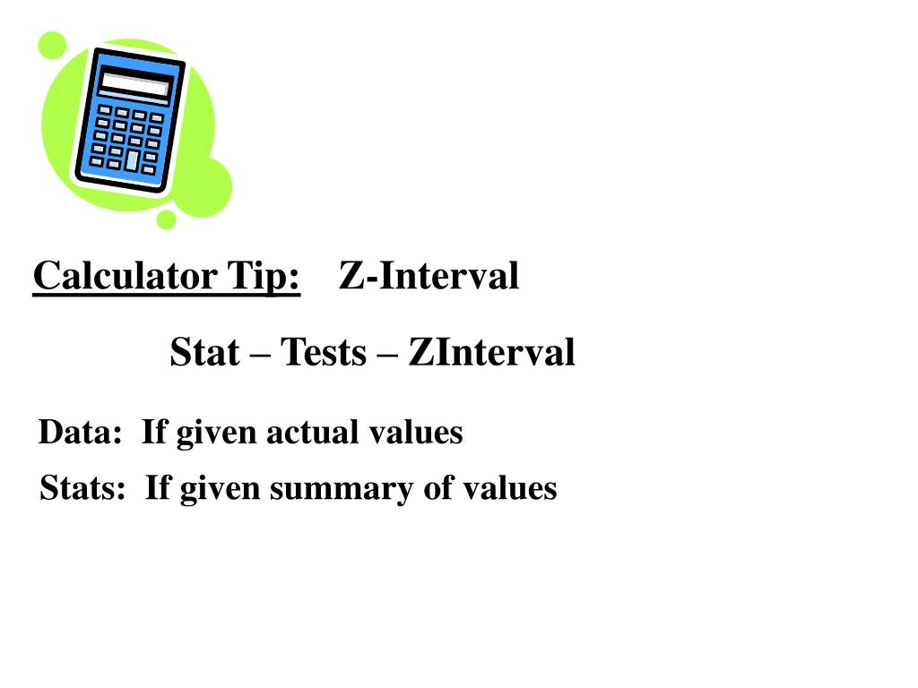 Calculator Tip:
