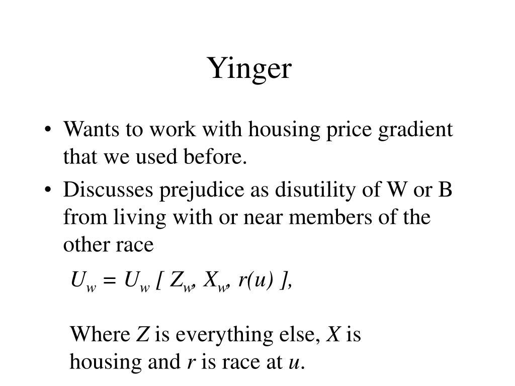 Yinger