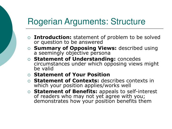 how to write a rogerian argument Find cheap and affordable essay writing services by high professionals find this pin and more on rogerian by luckyisgodot example rogerian argument essay examples of rogerian argument.