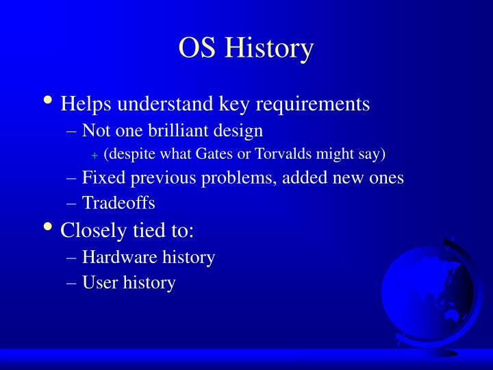 OS History