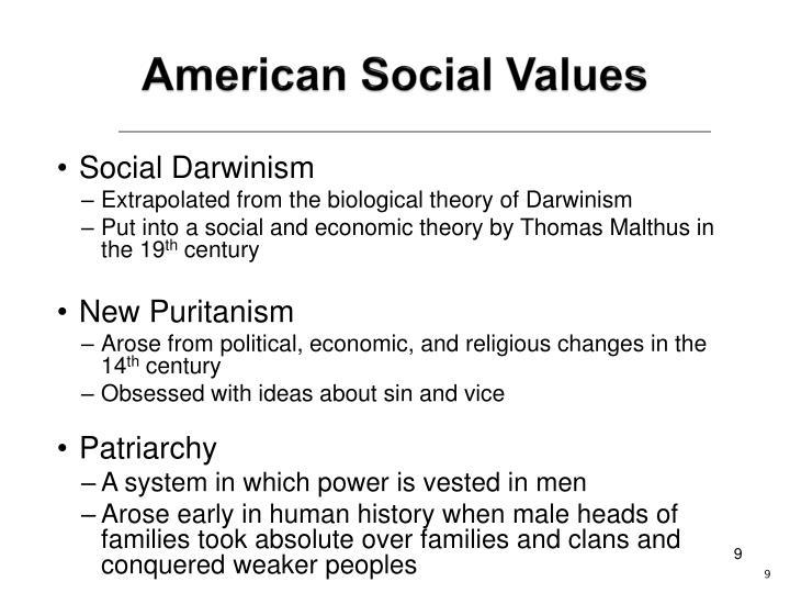 American Social Values