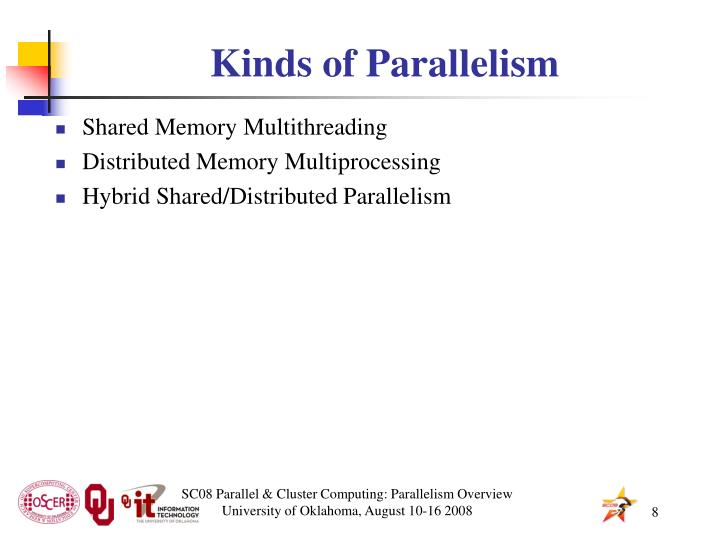 Kinds of Parallelism