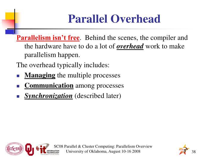 Parallel Overhead