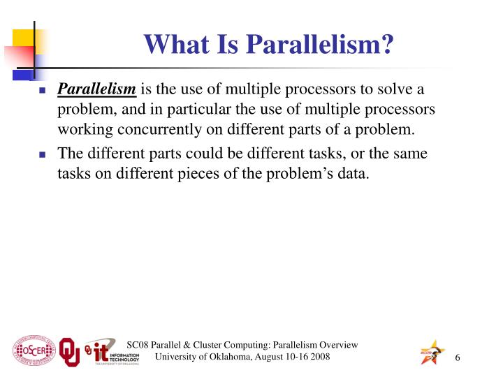 What Is Parallelism?