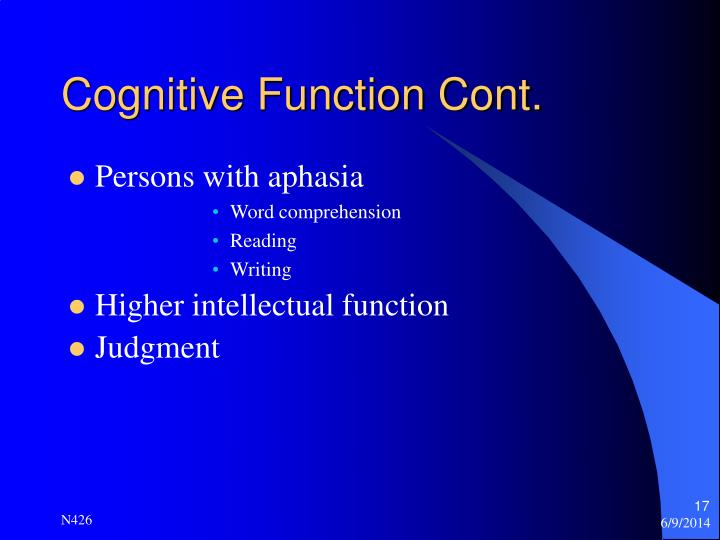 Cognitive orientation to learning essay