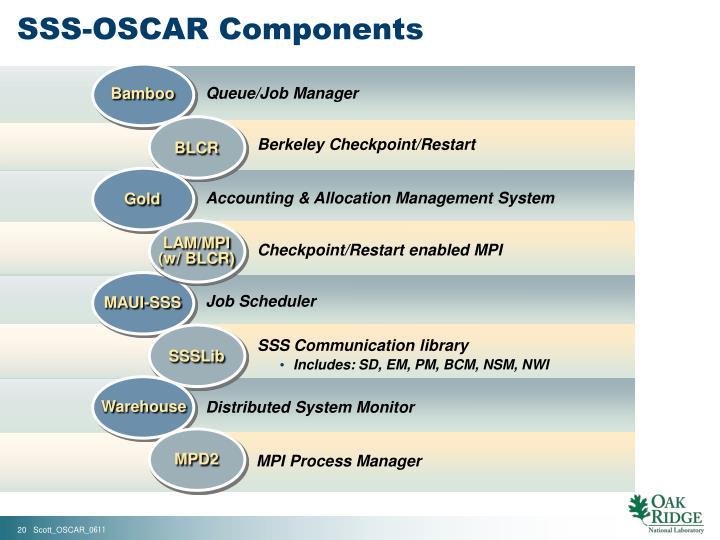 SSS-OSCAR Components