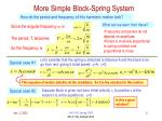 more simple block spring system