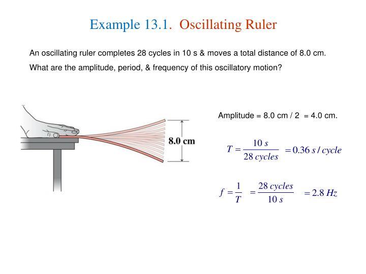 Example 13.1