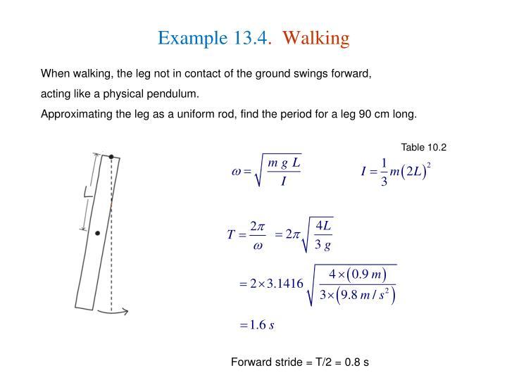Example 13.4