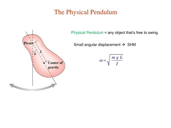 The Physical Pendulum