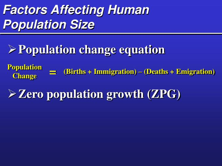 factors affecting shifters population Reading: factors affecting demand  the size or composition of the population can affect demand the more children a family has, the greater their demand for.