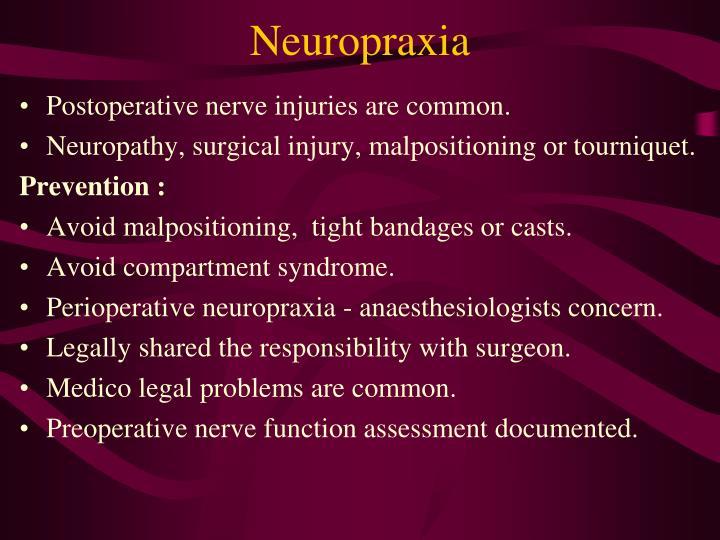 Neuropraxia