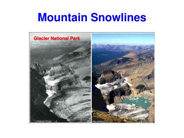 Mountain Snowlines