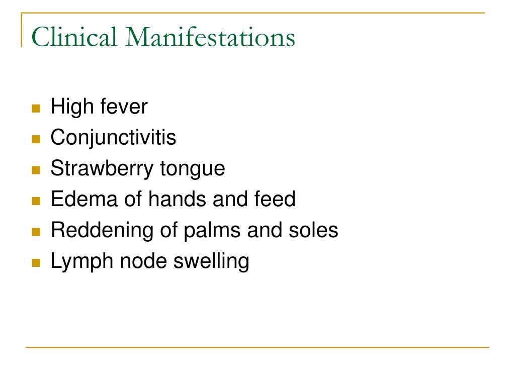 Clinical Manifestations