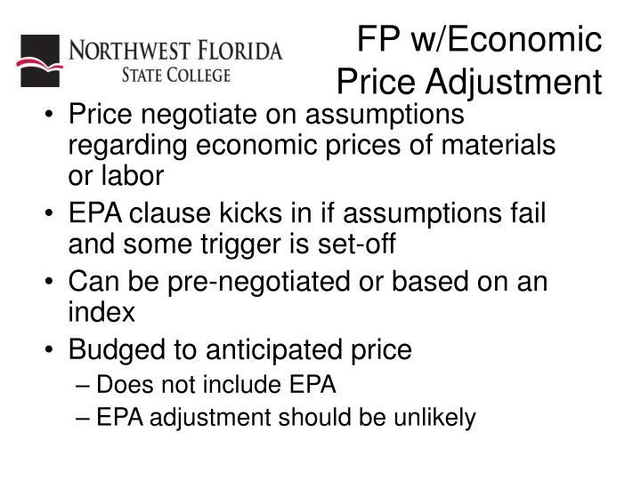 FP w/Economic