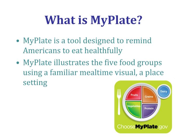 What is MyPlate?