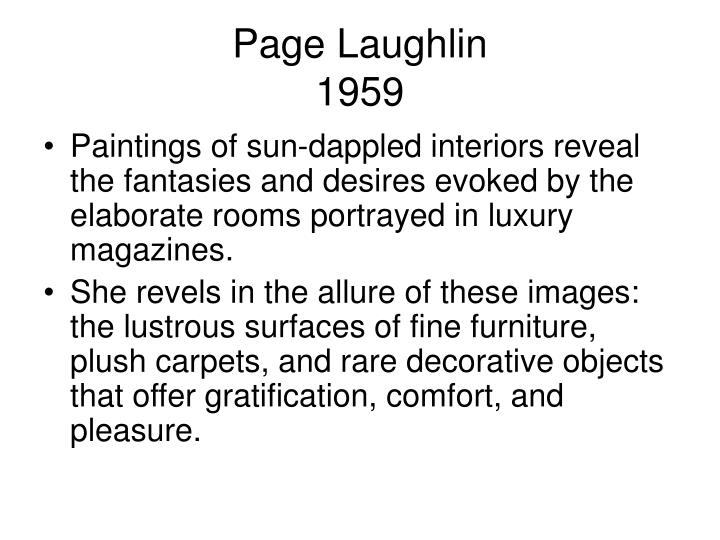Page Laughlin