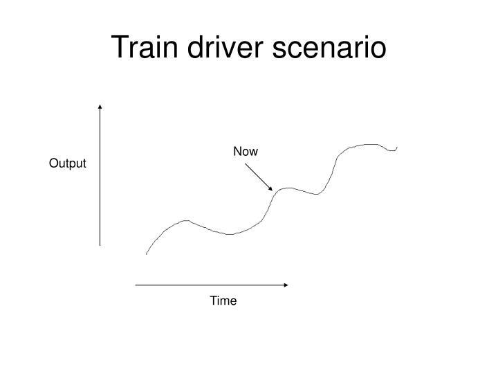 Train driver scenario