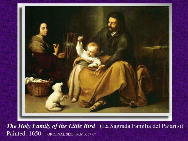 The Holy Family of the Little Bird