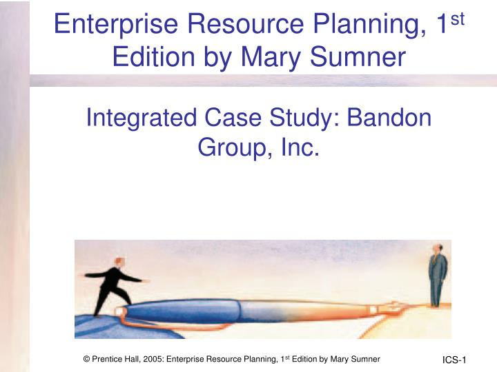 Enterprise Resource Planning, 1