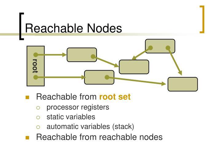 Reachable Nodes