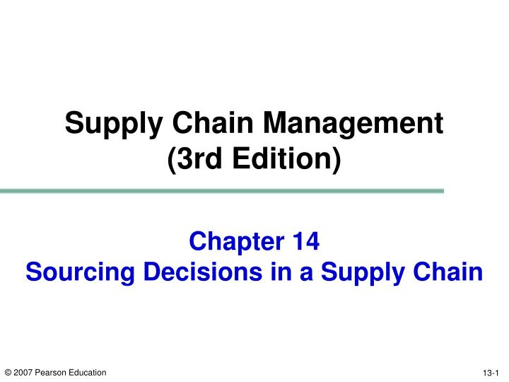 Supply Chain Management Lecture 14 Technology Ppt Video