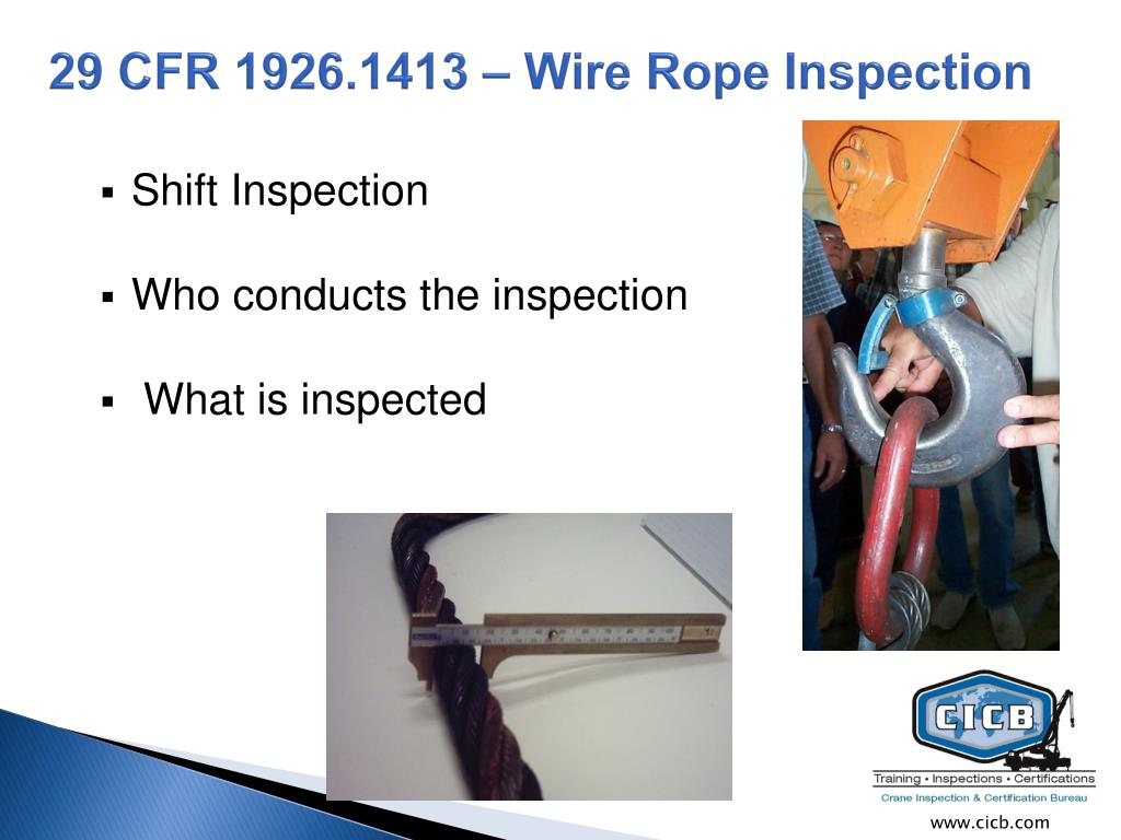 Amazing Wire Rope Inspection Ppt Frieze - Wiring Schematics and ...