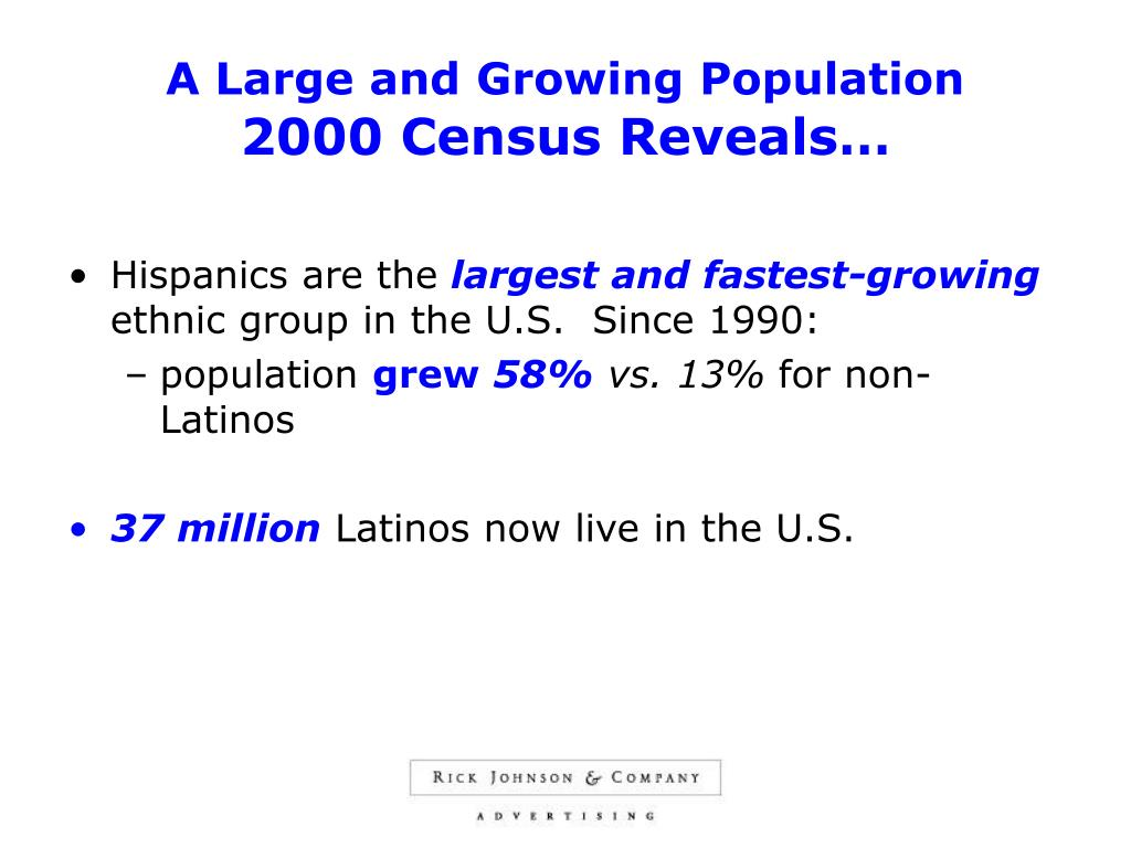 A Large and Growing Population
