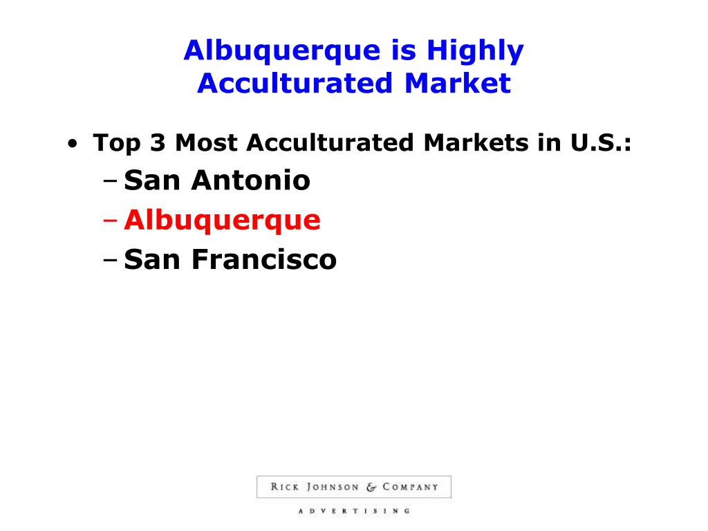 Albuquerque is Highly