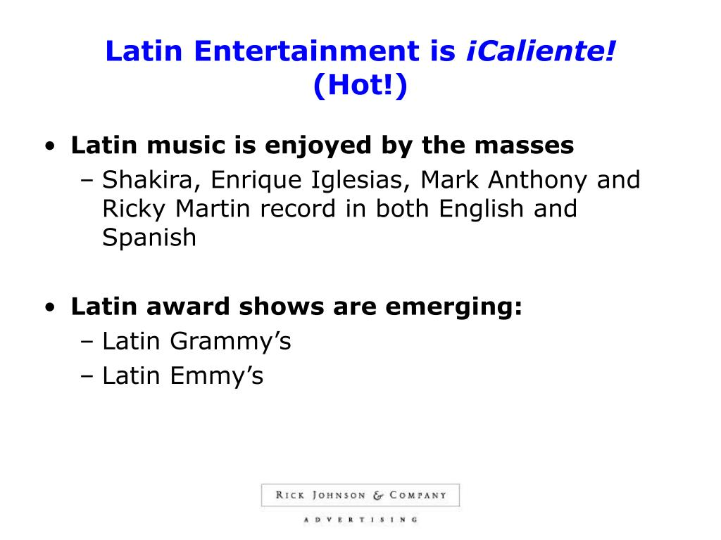 Latin Entertainment is