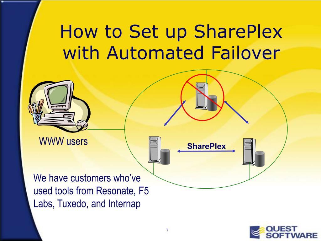 How to Set up SharePlex